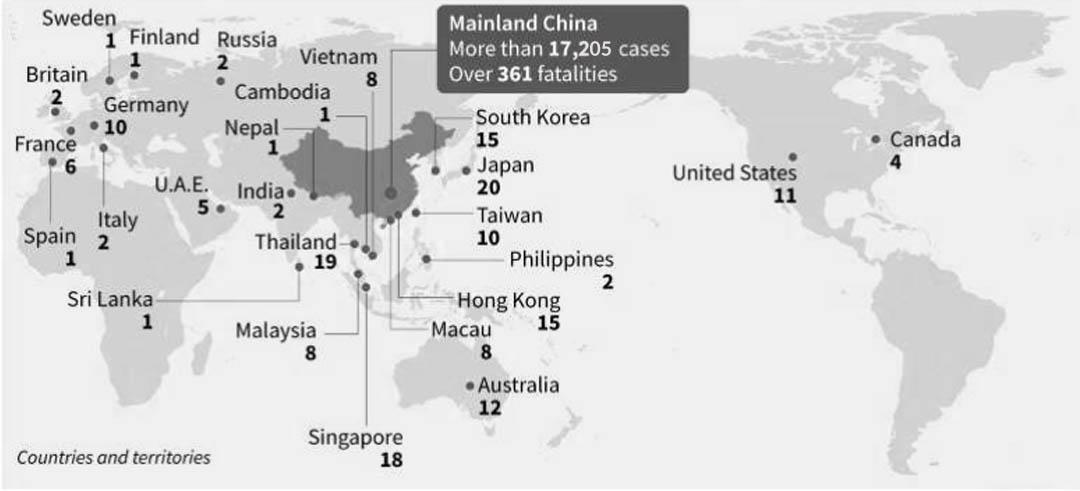 China's coronavirus death toll sparks SARS