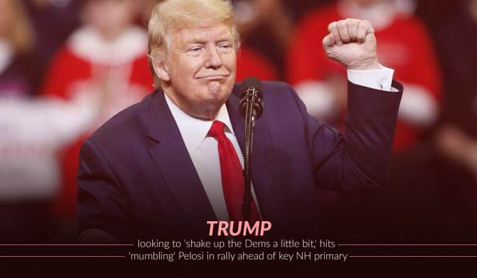 U.S. President Trump wants to Jiggle the Dams a Little Bit