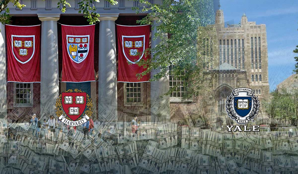 Yale and Harvard under investigation over million worth foreign gifts