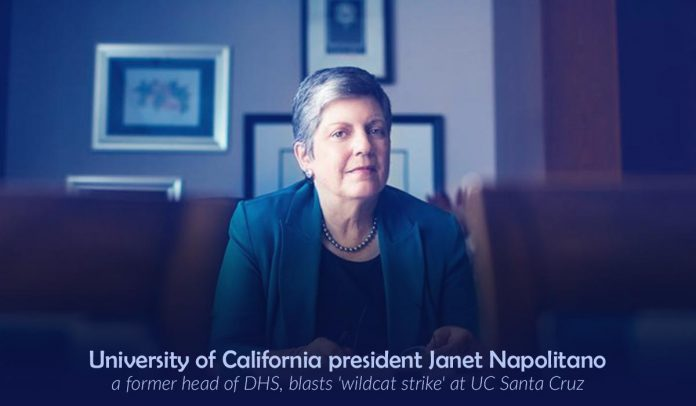 President of the UC Condemns wildcat strike at University of California