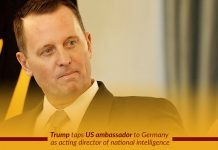 Trump announced Richard Grenell as Acting DNI