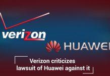 Verizon Criticizes Lawsuit of Huawei against it