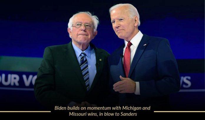 Biden conquer the contests of Missouri and Michigan