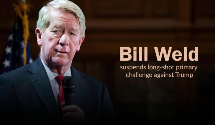 Bill Weld withdraw his Republican candidacy against Trump