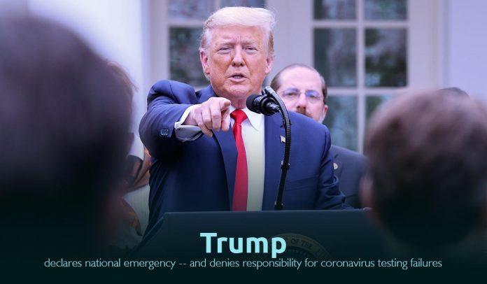 Trump Declared National Emergency in U.S. amid Coronavirus outspread