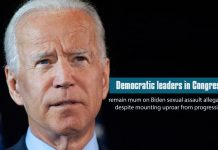 Democratic Congressional leaders remain silent on Biden Sexual Assault allegations