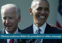 Former U.S. President Obama endorsed Joe Biden for President