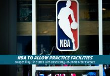 NBA going to open practice facilities in states with eased restrictions