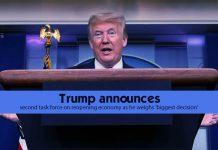 Trump announces 2nd Task Force on resurrecting US Economy