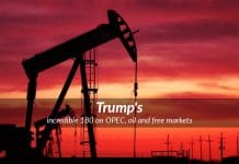 Trump goes 180 on his previous statements on OPEC and Oil