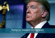 Trump temporarily suspend Immigration into U.S. amid Coronavirus pandemic