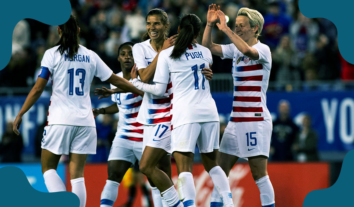 Biden wants women soccer players equal wages to men