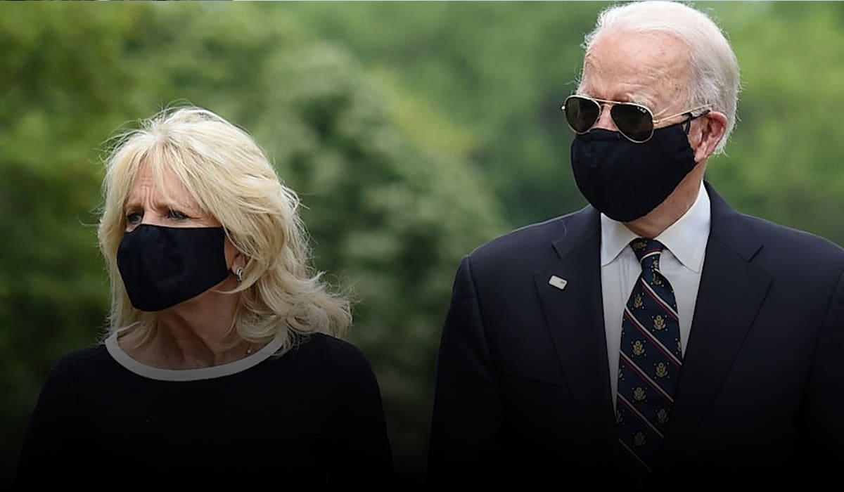 Joe Biden criticizes President for mocking face masks