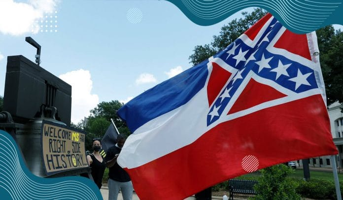 Mississippi state passed bill to remove confederate emblem from state flag