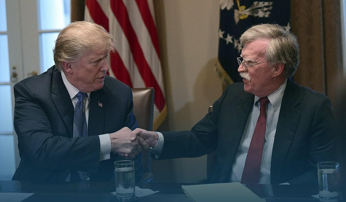Trump Admin sues Bolton over book publication dispute