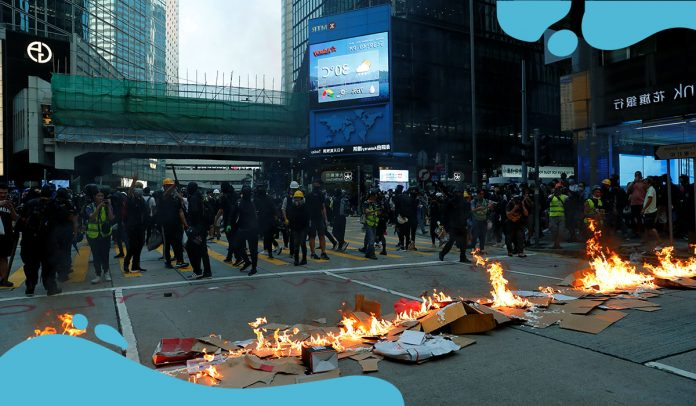 China's new passed Hong Kong law has instant chilling impact