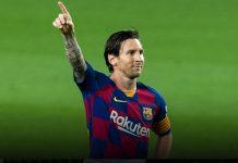 Messi brings up his 700 goals with Panenka penalty