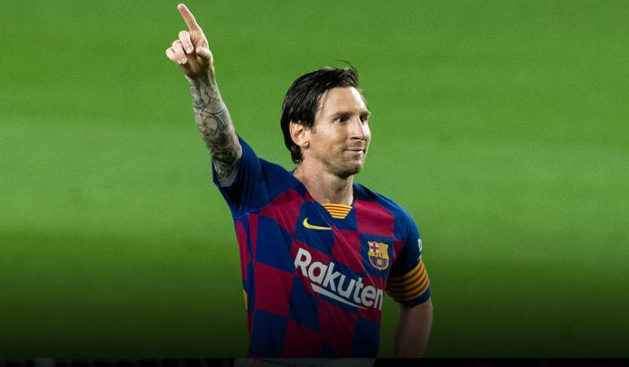 Leon Messi Joins 700 club with Panenka Penalty Goal