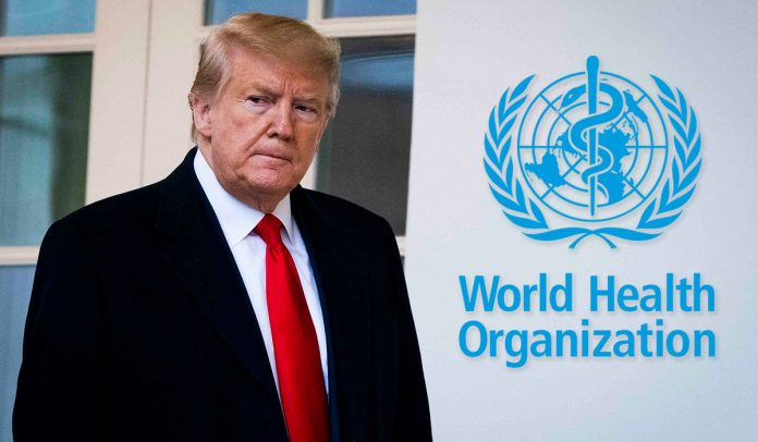 Trump Administration announced official withdrawal from WHO