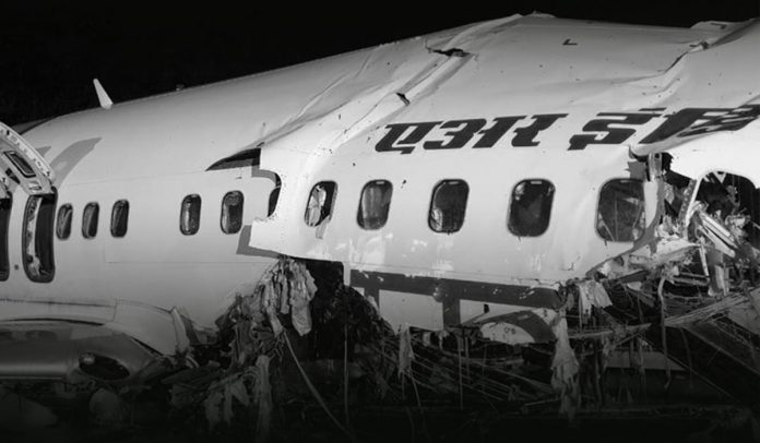 Air India plane crashed killing 17 people and 46 seriously injured