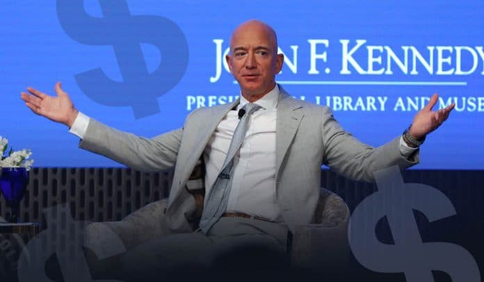 Jeff Bezos worth climb sharply once again to $200 billion