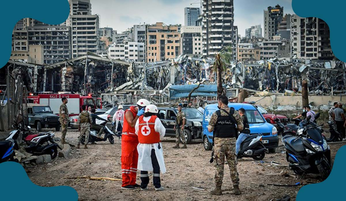 Stored Ammonium nitrate linked to terrible Beirut explosion