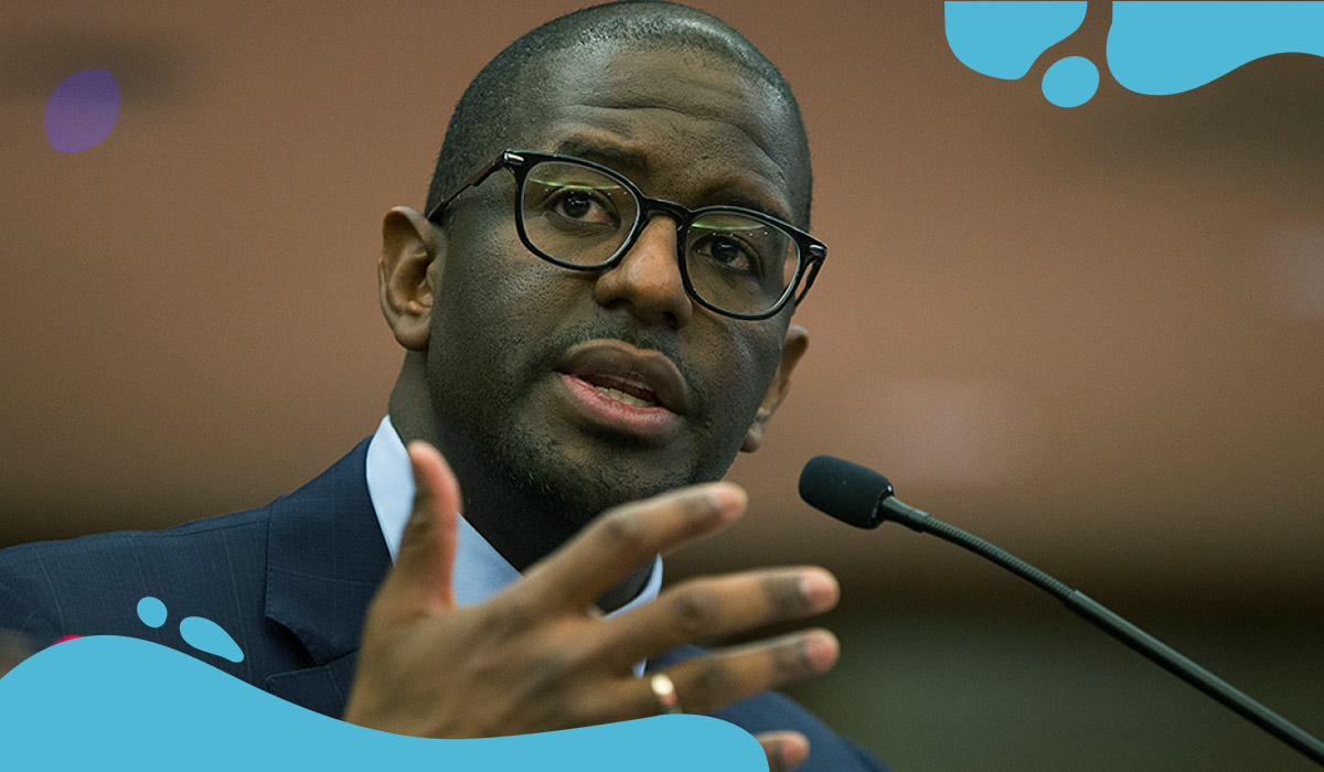 Andrew Gillum classifies himself as bisexual