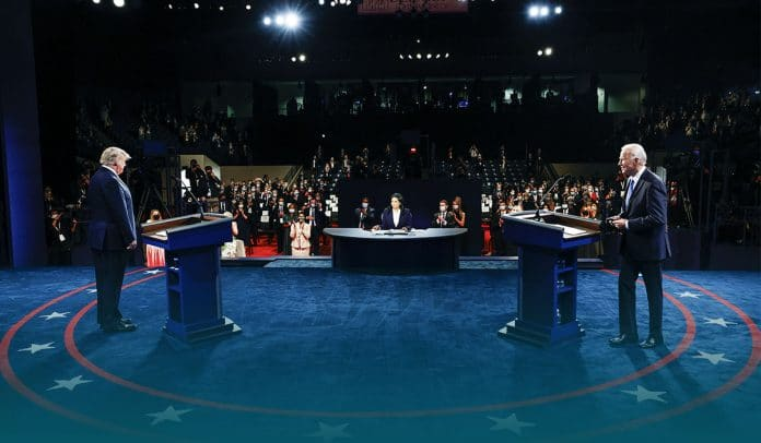 Final presidential debate 2020 between Trump and Biden