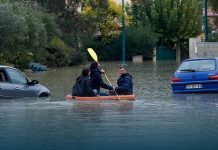 Floods and landslides hit Italy and France