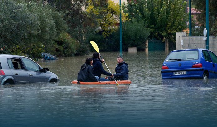 Floods and landslides hit Italy and France badly killing two