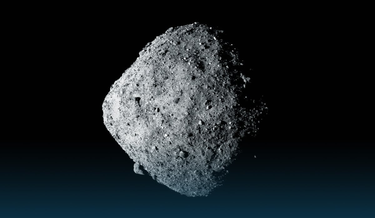 NASA successfully took a sample from asteroid Bennu