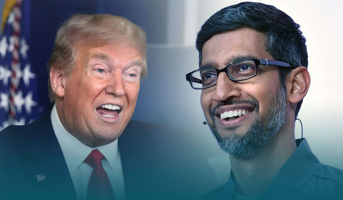 The Trump administration filed a lawsuit against Google